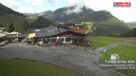 Archived image Webcam View from Streuboedenalm of Timoks Coaster 04:00