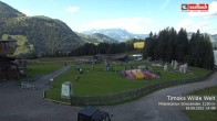 Archived image Webcam View from Streuboedenalm of Timoks Coaster 08:00