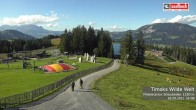 Archived image Webcam View from Streuboedenalm of Timoks Coaster 10:00