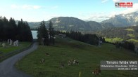 Archived image Webcam View from Streuboedenalm of Timoks Coaster 12:00