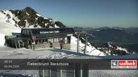 Archived image Webcam Top station Reckmoos lift 02:00