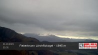 Archiv Foto Webcam Panorama vom Lärchfilzkogel 1645m 18:00