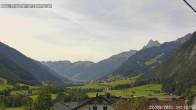 """Archived image Webcam guesthouse """"Traube"""", Pettneu 08:00"""