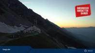 Archiv Foto Webcam Innsbrucker Nordkettenbahnen, Bergstation Seegrube 21:00
