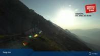 Archiv Foto Webcam Innsbrucker Nordkettenbahnen, Bergstation Seegrube 01:00