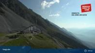 Archiv Foto Webcam Innsbrucker Nordkettenbahnen, Bergstation Seegrube 03:00