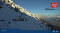 Archiv Foto Webcam Innsbrucker Nordkettenbahnen, Bergstation Seegrube 16:00