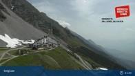 Archiv Foto Webcam Innsbrucker Nordkettenbahnen, Bergstation Seegrube 05:00