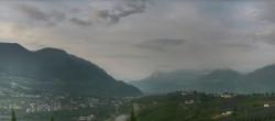 Archiv Foto Webcam Panorama Schenna 00:00
