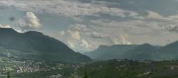 Archiv Foto Webcam Panorama Schenna 10:00
