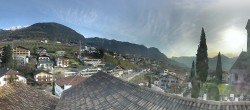Archived image Webcam Panoramic View of Schenna 08:00