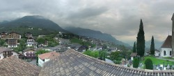 Archived image Webcam Panoramic View of Schenna 00:00
