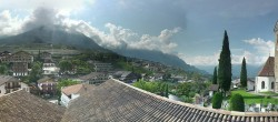 Archived image Webcam Panoramic View of Schenna 04:00