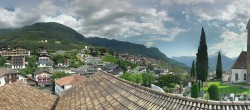 Archived image Webcam Panoramic View of Schenna 10:00