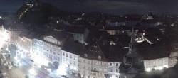 Archiv Foto Webcam Grazer Rathaus 20:00