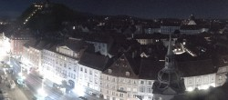 Archiv Foto Webcam Grazer Rathaus 22:00