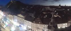 Archiv Foto Webcam Grazer Rathaus 00:00
