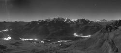 Archived image Webcam St. Moritz / Piz Nair Top Station 18:00