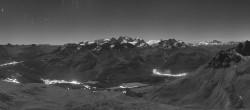 Archived image Webcam St. Moritz / Piz Nair Top Station 20:00