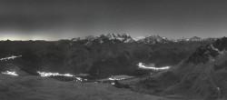 Archived image Webcam St. Moritz / Piz Nair Top Station 00:00