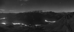 Archiv Foto Webcam St. Moritz / Bergstation Piz Nair 18:00