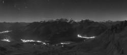 Archiv Foto Webcam St. Moritz / Bergstation Piz Nair 20:00