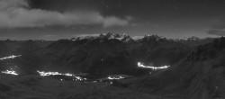 Archiv Foto Webcam St. Moritz / Bergstation Piz Nair 22:00