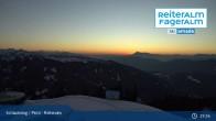 Archived image Webcam Reiteralm (1.860 m) 21:00