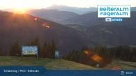 Archiv Foto Webcam Reiteralm (1.860 m) 19:00