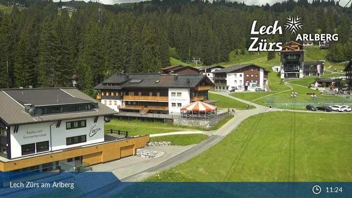Webcam Oberlech (Arlberg mountain) • Arlberg • Panorama
