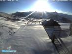 Archiv Foto Webcam Bergstation Diedamskopf, Vorarlberg 02:00