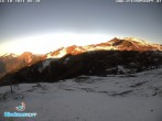 Archiv Foto Webcam Panorama Diedamskopf von der Breitenalpe 02:00