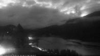 Archived image Webcam St. Moritz village Hotel Badrutt's Palace together with lake St. Moritz 00:00