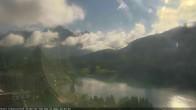 Archived image Webcam St. Moritz village Hotel Badrutt's Palace together with lake St. Moritz 04:00