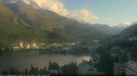 Archived image Webcam St. Moritz village II View from Hotel Schweizerhof towards St. Moritz Bad 12:00