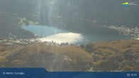Archived image Webcam Corviglia I View towards lake St. Moritz 04:00