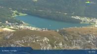 Archived image Webcam Corviglia I View towards lake St. Moritz 08:00