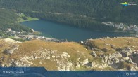 Archived image Webcam Corviglia I View towards lake St. Moritz 10:00