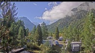 Archived image Webcam Morteratsch camping area, Engadin 04:00