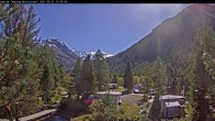 Archived image Webcam Morteratsch camping area, Engadin 08:00