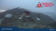 Archived image Webcam Diavolezza - Mountain House Diavolezza 23:00
