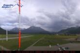 Archived image Webcam Samedan I Airport orientation west 18:00