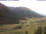 Archived image Webcam Zuoz View from Hotel Castell 10:00