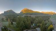 Archived image Webcam Hotel Saratz 02:00