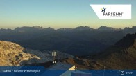 Archived image Webcam Davos Klosters: Weissfluhjoch (2260 m) 01:00