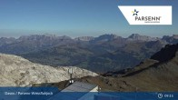 Archived image Webcam Davos Klosters: Weissfluhjoch (2260 m) 03:00
