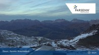 Archived image Webcam Davos Klosters: Weissfluhjoch (2260 m) 21:00