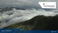 Archived image Webcam Davos Klosters: Jakobshorn mountain (2590 m) 03:00