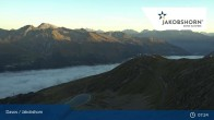 Archived image Webcam Davos Klosters: Jakobshorn mountain (2590 m) 06:00