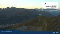 Archived image Webcam Davos Klosters: Jakobshorn mountain (2590 m) 18:00
